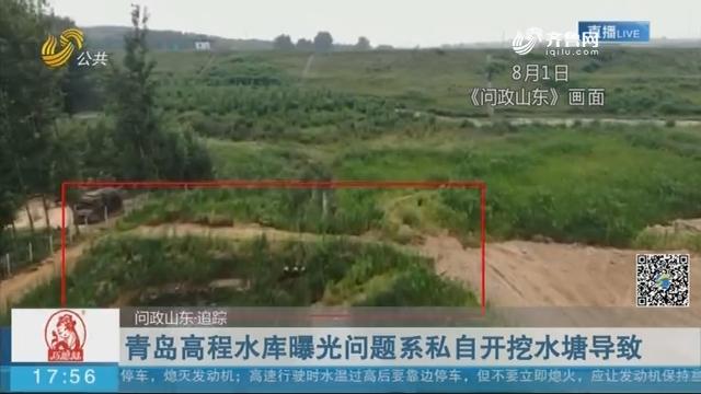 【问政山东·追踪】青岛高程水库曝光问题系私自开挖水塘导致