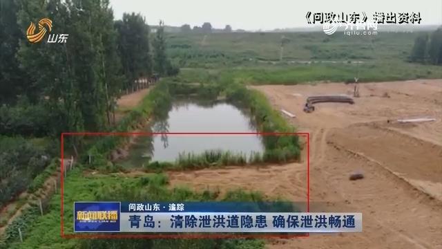 【问政山东·追踪】青岛:清除泄洪道隐患 确保泄洪畅通