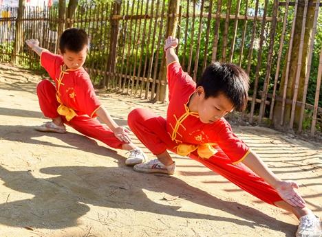 广饶县武术运动协会成立