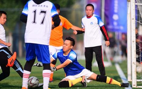 东营市第十一届运动会足球比赛利津举行