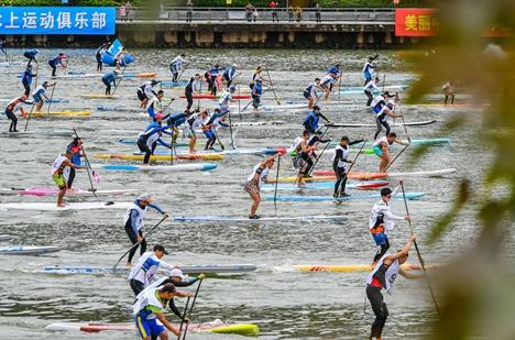 2019中国百里沂河水陆马拉松赛9月激战临沂河东