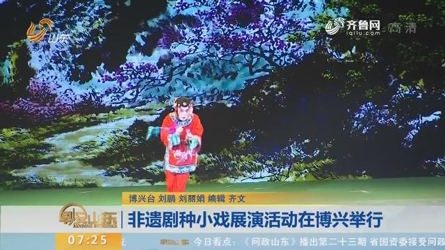 非遗剧种小戏展演活动在博兴举行