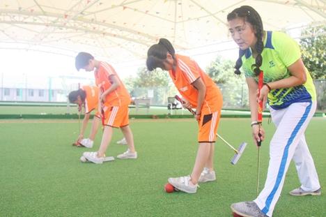 东营市第十一届运动会门球比赛利津举行