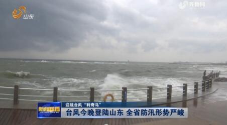 """【迎战台风""""利奇马""""】台风今晚登陆山东 全省防汛形势严峻"""