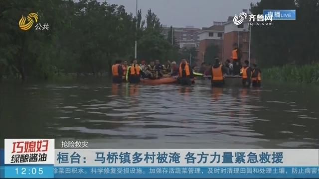 【抢险救灾】桓台:马桥镇多村被淹 各方力量紧急救援