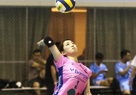 东营市第十一届运动会排球比赛在利津县举行