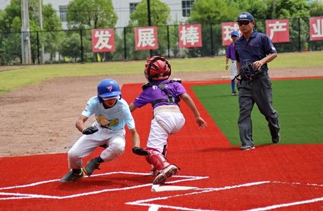 玲珑轮胎杯全国青少年棒球锦标赛威海临港开赛