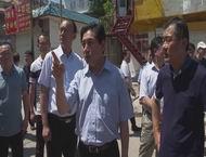 王宏志督导国家卫生城市复审工作