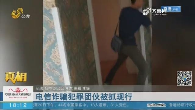 【真相】电信诈骗犯罪团伙被抓现行