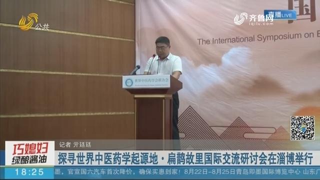 探寻世界中医药学起源地·扁鹊故里国际交流研讨会在淄博举行