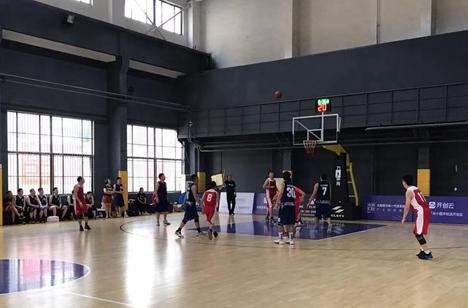 山东省直机关第四届男子篮球赛继续进行