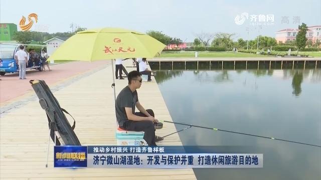 【推动乡村振兴 打造齐鲁样板】济宁微山湖湿地:开发与保护并重 打造休闲旅游目的地