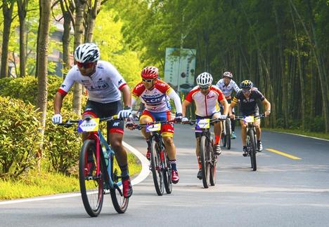 山东省青少年山地自行车冠军赛日照鸣枪开赛
