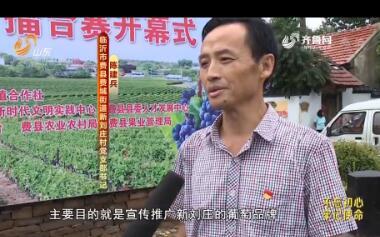 20190826《齐鲁先锋》:在习近平新时代中国特色社会主义思想指引下·寻找齐鲁样板 陈建兵——文化搭起致富路