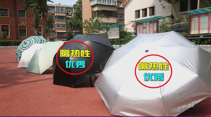《生活大求真》:隔热伞大比拼!看看打哪种伞最凉快?