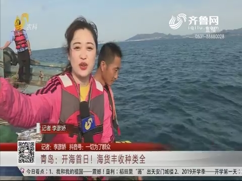 青岛:开海首日!海货丰收种类全