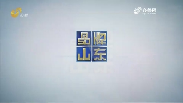 2019年09月01日《品牌山东》完整版