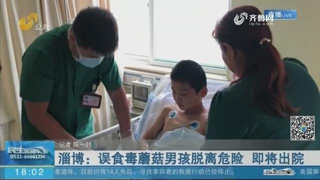 淄博:误食毒蘑菇男孩脱离危险 即将出院