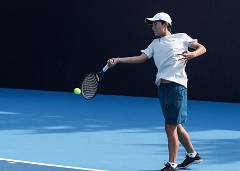 日照市体校网球训练基地落户安泰网球中心