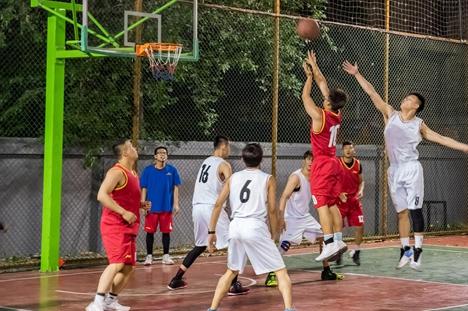山亭区全民健身运动会篮球赛落幕