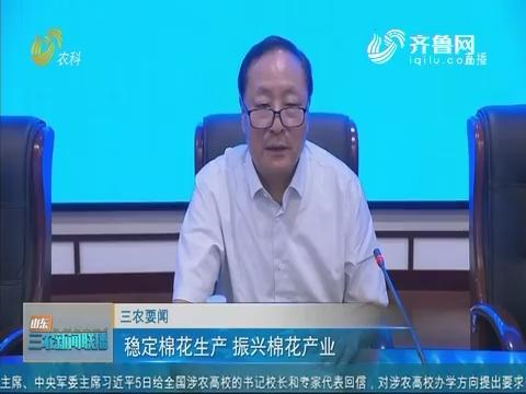 【三农要闻】稳定棉花生产 振兴棉花产业