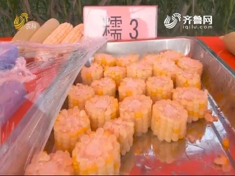 鲜食玉米品鉴会:甜糯可口品种多