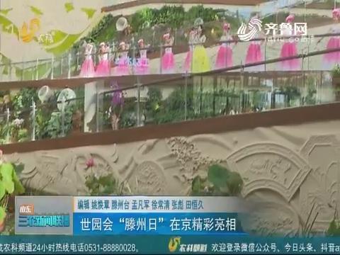"""【世界园艺博览会】世园会""""滕州日""""在京精彩亮相"""