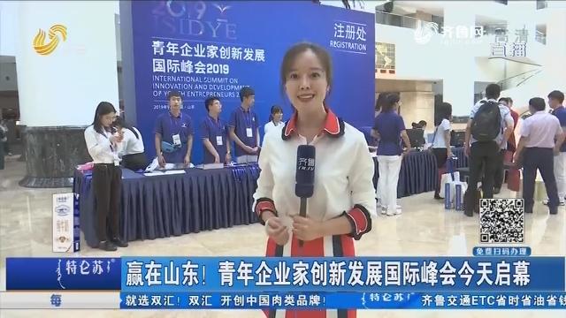 赢在山东!青年企业家创新发展国际峰会9月8日启幕