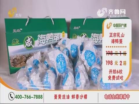 20190909《中国原产递》:海鸭蛋