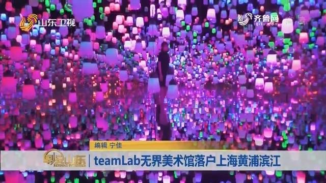 teamLab无界美术馆落户上海黄浦滨江