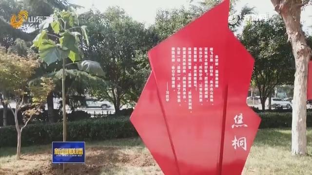"""传承焦裕禄精神 """"焦桐""""落户山东"""