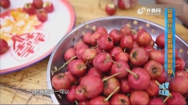 2019年09月24日《生活大调查》:吃撑了山楂能消食吗?