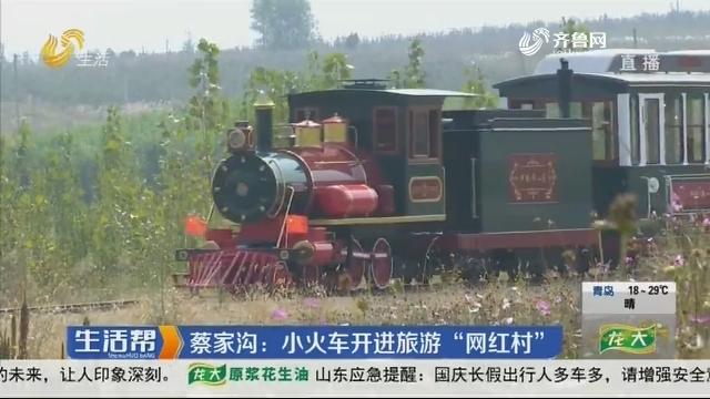 """蔡家沟:小火车开进旅游""""网红村"""""""
