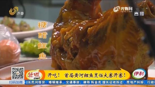 开吃!首届黄河鲤鱼烹饪大赛开赛!