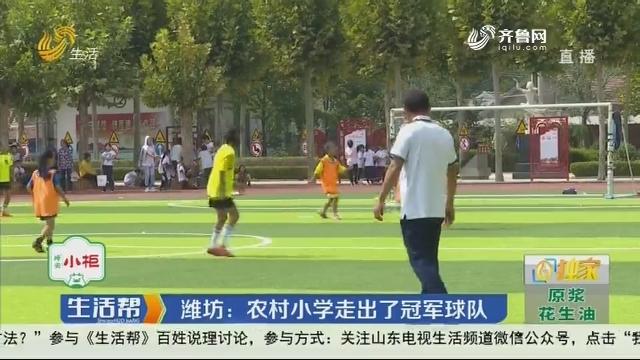 【独家】潍坊:农村小学走出了冠军球队