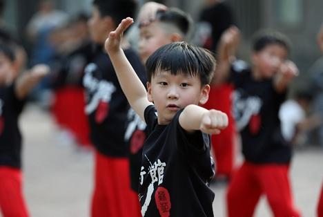 第四届洪派太极拳国际交流大赛济南举行