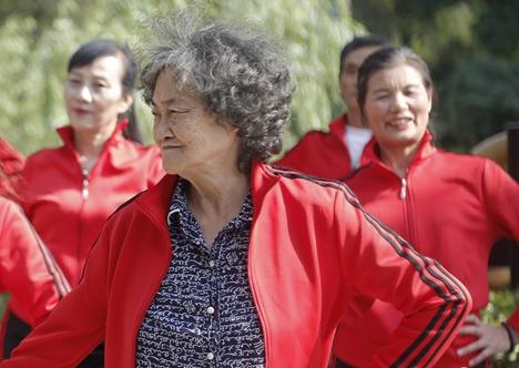 日照市中老年人健身成果展演活动举行