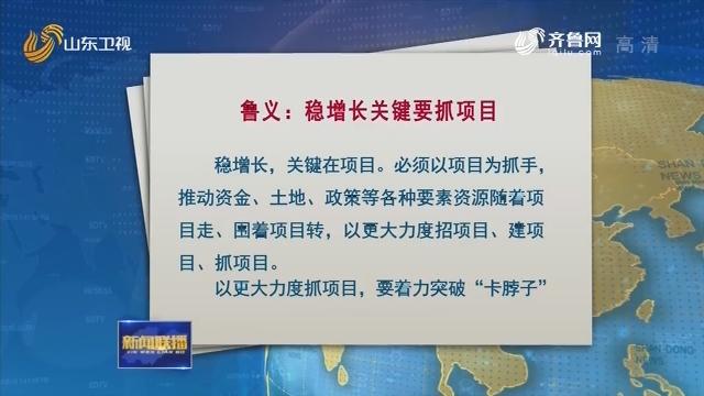 鲁义文章:稳增长关键要抓项目