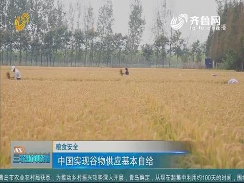 【粮食安全】中国实现谷物供应基本自给
