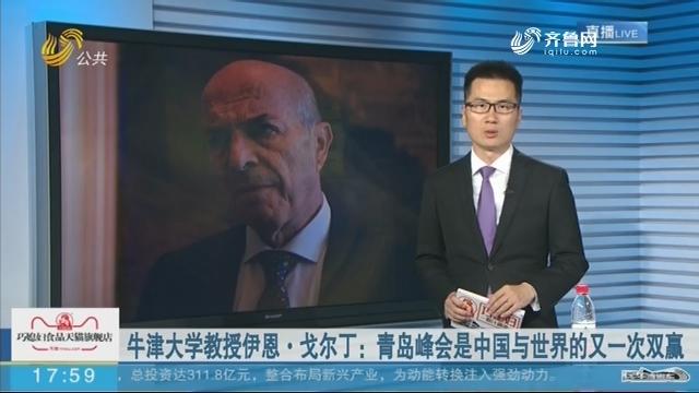 牛津大学教授伊恩·戈尔丁:青岛峰会是中国与世界的又一次双赢