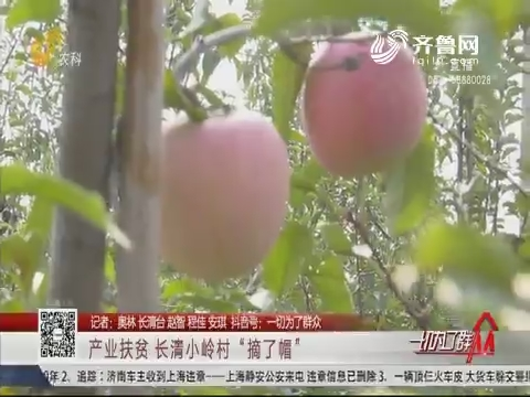 """产业扶贫 长清小岭村""""摘了帽"""""""