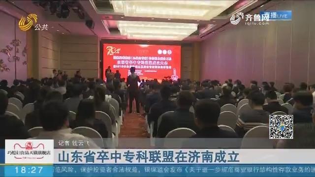 山东省卒中专科联盟在济南成立