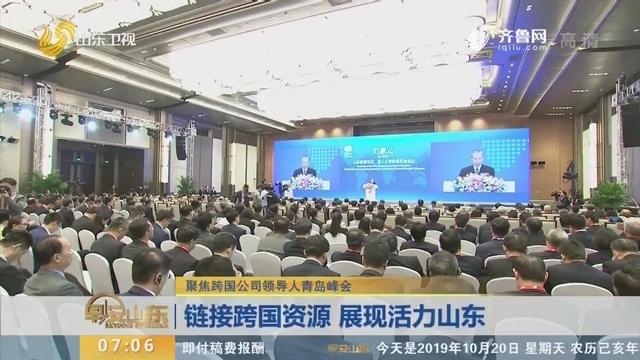 【聚焦跨国公司领导人青岛峰会】链接跨国资源 展现活力山东