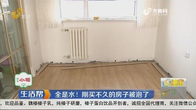济南:全是水!刚买不久的房子被泡了