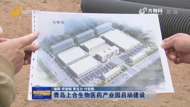 青岛上合生物医药产业园启动建设