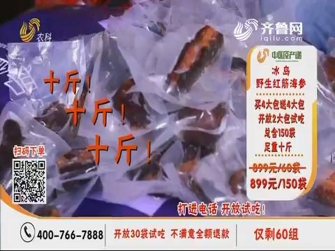 20191024《中国原产递》:野生红筋海参