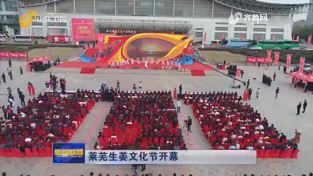 莱芜生姜文化节开幕
