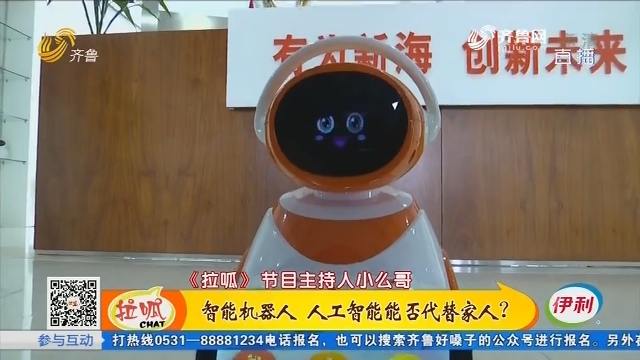 潍坊:智能机器人 人工智能能否代替家人?