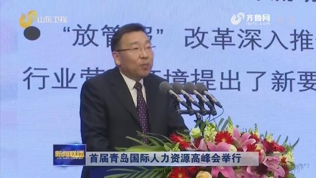 首届青岛国际人力资源高峰会举行