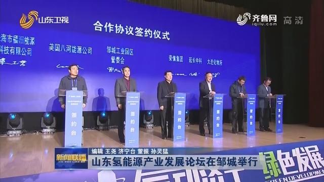 山东氢能源产业发展论坛在邹城举行